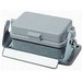 Thomas & Betts PB406 Pos-E-Kon™ Standard Mount Single Lever Locking Single Post Panel Base With Cover; Die-Cast Aluminum