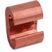 Thomas & Betts CTP22 E-Z-Ground® C-Tap Compression Connector; Main/Tap: 6 AWG Solid-2 AWG Stranded, Copper