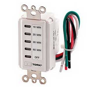 nsi dmw tork acirc reg d series in wall time switch volt ac  nsi d1060mw torkacircreg d series in wall time switch 120 volt ac 10 20 30 60 min white