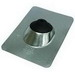 Nichols F-142 Roof Flashing; 1-1/4 - 2 Inch, ASTM A653 Neoprene Collar, 28 Gauge Galvanized Base