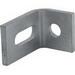 Unistrut P1750EG 2-Hole 90 Degree Slotted Fitting; Steel, Electrogalvanized