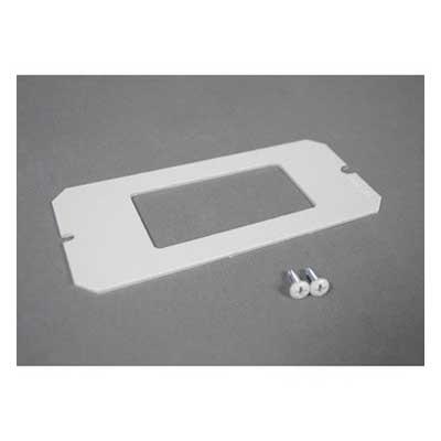 Wiremold / Walker 6DEC Poke-Thru Device Plate; Screw On Mount