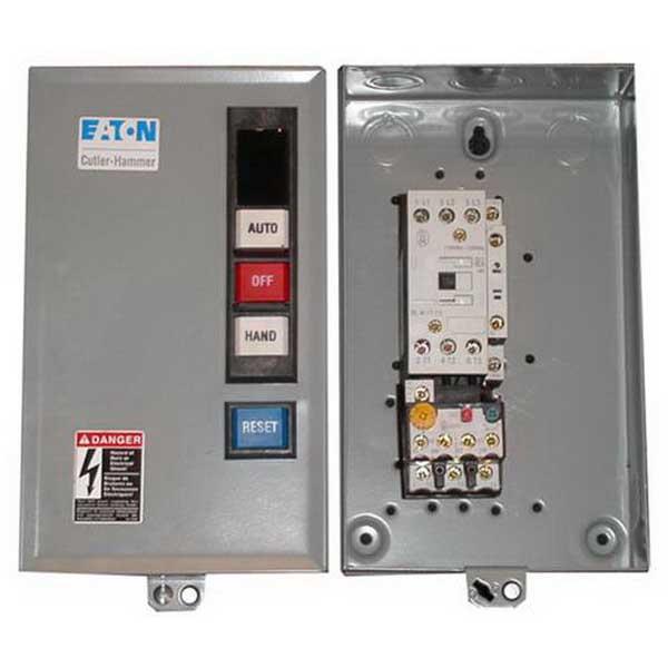 Eaton / Cutler Hammer ECX09H1BAA-N IEC Full Voltage Starter; 32 Amp, 24 - 32 Amp Full Load