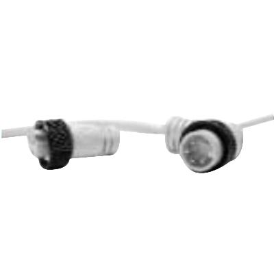 Woodhead / Molex 105000A07M0201 Cord Set; 20 AWG, Female Straight Connection, 2 m Long, PVC Jacket, Yellow
