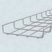 Cablofil ZF30/50IN316L CF 30 Series Straight Edge Cable Tray; 10 Inch x 2 Inch x 1 Inch, Stainless Steel