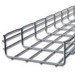 Cablofil CF105/600EZ CF 105 Series Cable Tray; 10 Inch x 24 Inch x 4 Inch, Steel, Electro-Zinc-Plated