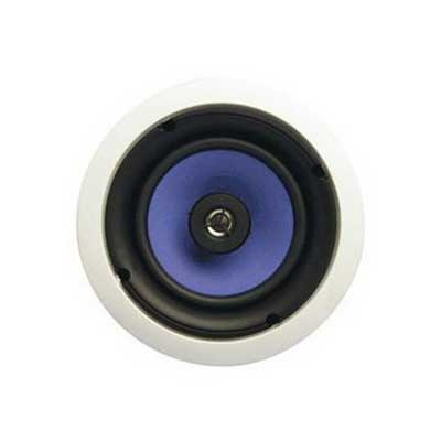 On-Q MS3650 3000 Series Speaker; 6.5 Inch Mica Fiber Woofer 91 dB Sensitivity, Paintable