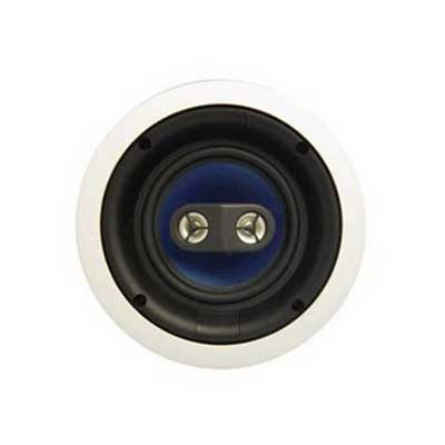 On-Q MS3652 3000 Series Dual Voice Coil Speaker; 6.5 Inch Mica Fiber Woofer 91 dB Sensitivity, Paintable