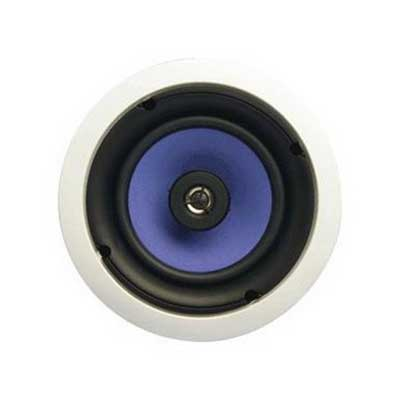 On-Q MS3800 3000 Series Speaker; 8 Inch Mica Fiber Woofer 91 dB Sensitivity, Paintable