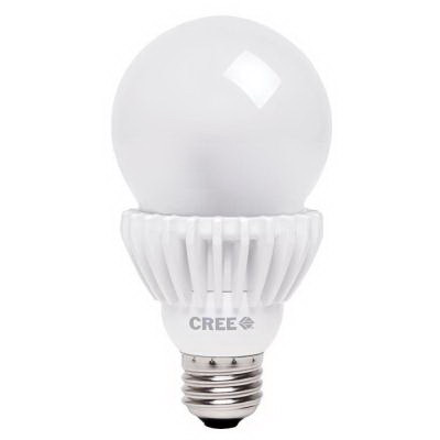 Cree A21-100W-27K-MC LED Lamp; 18 Watt, 2700K, 25000 Hour Life, Soft White