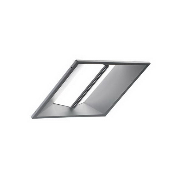 Cree CR24-40L-50K-10V-HD Architectural LED Troffer; 120 - 277 Volt, 40 Watt, 50/60 Hz, 5000K, 4000 Lumens, 90 CRI, Integrated Dimmable LED, White Polyester Powder-Coated Reflector, Recessed Mount, 20 Gauge Steel Housing, White Shade