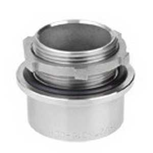 CalConduit S61000LT00 Line Terminator Hub; 1 Inch, Threaded, 316 Stainless Steel