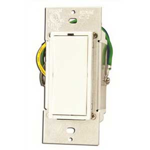 Leviton 37A00-1 HAI UPB™ Auxiliary Switch; White