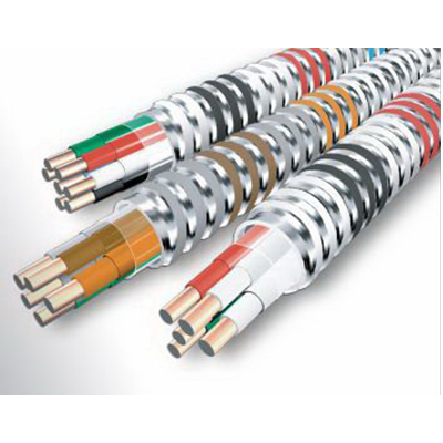 Copper Building Wire MC-Plus™ 120/208 Volt 3 Conductors 12 AWG 0.620 Inch Solid Neutral Per Phase MC Cable; 1000 ft Reel
