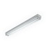 H.E. Williams 76-4-254T5H-EB2*AD-BD-UNV 2-Light Standard Strip Light; 108 Watt, 120 - 277 Volt, Surface/Suspended Mount, 22 Gauge Die-Formed Steel, White