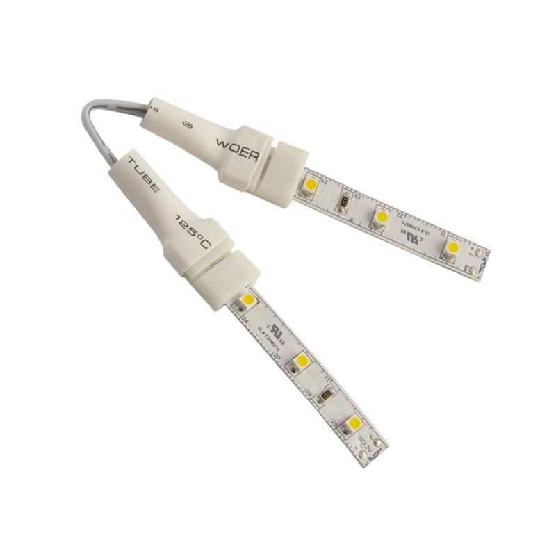 Diode LED DI-0862 CLICKTIGHT™ Standard Strip Light Bend Connector; 60 Watt, 12 Volt DC