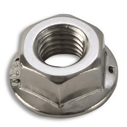 Solarworld EC0496 Hex Flange Nut; M8, Stainless Steel, Clear