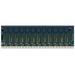 GE Fanuc IC695CHS012 High Speed Universal Controller Base; 600 Milli-Amp at 3.3 Volt DC & 240 Milli-Amp at 5 Volt DC