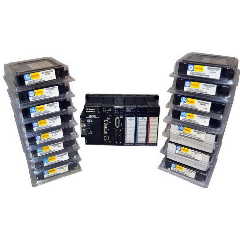 GE Fanuc IC693ACC302 High Capacity Programmable Logic Control Replacement Lithium Battery Pack; 1500 Milli Amp-Hour