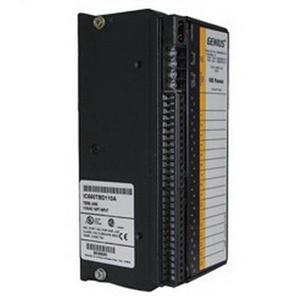 GE Fanuc IC660BBD110 Block Genius Bus Discrete Input Module; 16 Points, 93 - 132 Volt AC Output