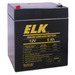 Elk Products 1250 Sealed Lead Acid Battery; 20 Hour At 5 Amp-Hour Rate/10 Hour At 4.75 Amp-Hour Rate/5 Hour At 4.25 Amp-Hour Rate/1 Hour At 3 Amp-Hour Rate