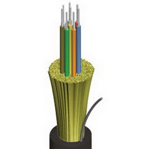 """""AFL KQ0065641801-BIF Bend Intolerant Fiber Plenum Distribution Cable 50/125 um, Multi Mode GIGA-Link 600 OM2, 6-Fiber, 0.250 Inch Dia,"""""" 87224"