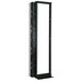 Great Lakes Case & Cabinets GLRR-1984BA 2-Post Rack; 19 Inch, 45-Rack Unit, Double Sided Extruded Aluminum, Black