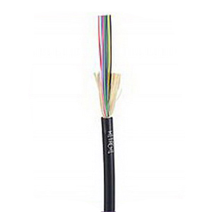 """""Hitachi 61460-006 I/O Tight Buffered Plenum Fiber Optic Cable 62.5 um, OM1, 6-Fiber, 0.190 Inch OD, Orange,"""""" 473181"