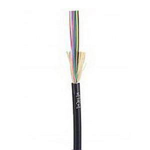 """""""""""Hitachi 61459-024 I/O Tight Buffered Plenum Fiber Optic Cable 8.3 um, OS2 Single Mode, 24-Fiber, 0.350 Inch OD, Yellow,"""""""""""" 519884"""