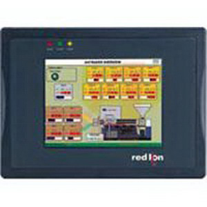 Red Lion G306K000 G3 Series 6-Color Kadet Operator Interface; 320 x 234 Pixel TFT, 12 - 24 Volt DC