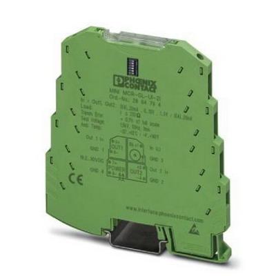 Phoenix Contact Phoenix 2864176 MINI-MCR-SL-UI-2UI 4-Way Signal Duplicator; 24 Volt DC, 30 Milli-Amp, M3 Screw Connection