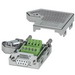 Phoenix Contact Phoenix 2761499 Female D-Sub Bus Connector; 100 Milli-Amp, 50 Volt, Metal Plated ABS Housing, 9 Positions
