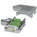 Phoenix Contact Phoenix 2761509 Male D-Sub Bus Connector; 100 Milli-Amp, 50 Volt, Metal Plated ABS Housing, 9 Positions