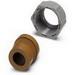 Phoenix 1853913 Cable Gland; Half Screw, Pressure Screw: Polyamide, Seal: Thermoplastic Elastomer (TPE)