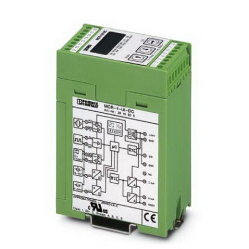 Phoenix 2814605 MCR-F-UI-DC MCR Frequency Measuring Transducer; 20 - 30 Volt DC, 60 Milli-Amp, M3 Pluggable Screw Connection