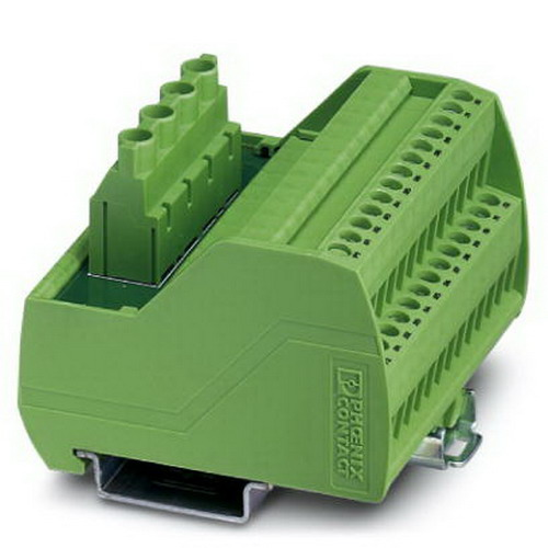 Phoenix Contact Phoenix 2315269 VIP-2/SC/PDM-2/24 Interface Module; 30 Amp, 250 Volt AC/DC, M3 Screwed Connection
