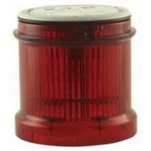 Eaton / Cutler Hammer SL7-BL24-R SL7 Series Signal Tower Flashing Light With LED; 24 Volt AC/DC, Red Lens