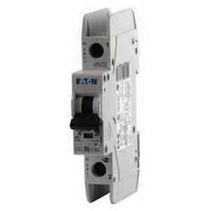Eaton / Cutler Hammer FAZ-B20/1-RT EMD Branch Circuit Breaker; 20 Amp, 1-Pole, DIN-Rail Mount