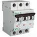 Eaton / Cutler Hammer FAZ-D3/3-NA EMD Branch Circuit Breaker; 3 Amp, 3-Pole, DIN-Rail Mount