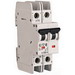 Eaton / Cutler Hammer FAZ-D1/2-NA EMD Branch Circuit Breaker; 1 Amp, 2-Pole, DIN-Rail Mount