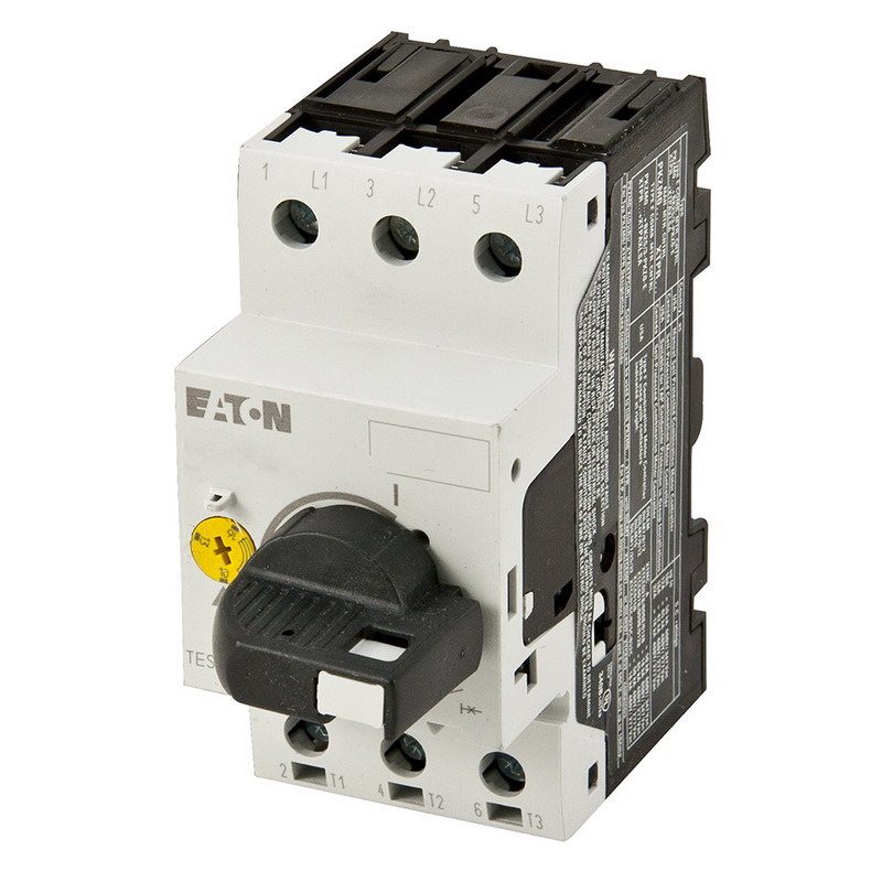 Eaton / Cutler Hammer XTPR004BC1 Manual Motor Protector; 200 - 690 Volt AC, 2.50 - 4.00 Amp Full Load, 3 Pole