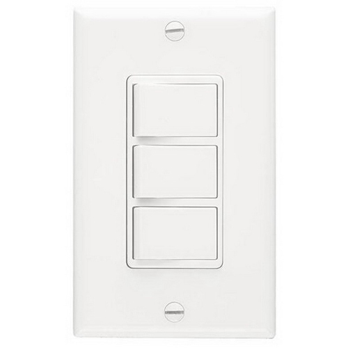 Broan Nu-Tone P66W 3-Function Wall Control; 120 Volt