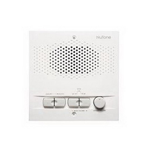 Broan Nu-Tone NRS103WH Microphone Indoor Remote Station; White