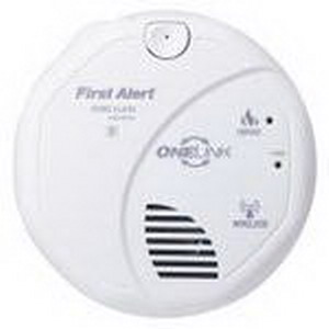 """""""""""BRK SA511B One Link Wireless Battery Smoke Alarm With Voice 2 1.5 Volt AA Batteries, 85 DB At 10 ft Loudness, White,"""""""""""" 301690"""