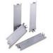 Gardner Bender FP159-6 Saf-Te-Plate™ Safety Plate; 1-1/2 Inch x 6 Inch trade Size, 1-1/2 Inch Length(x 3 Inch Width x 16 Gauge Metal