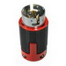 Cooper Wiring CS6365 Hart-Lock® California Standard Armored Plug; 50 Amp, 3-Pole, 10-6 AWG, Steel