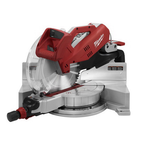 Milwaukee Tools 6950-20 Dual-Bevel Sliding Compound Miter Saw 120 Volt AC, 15 Amp, 5/8 Or 1 Inch Arbor, 48 Degree Bevel Capacity, 12 Inch Blade, 3200 RPM,