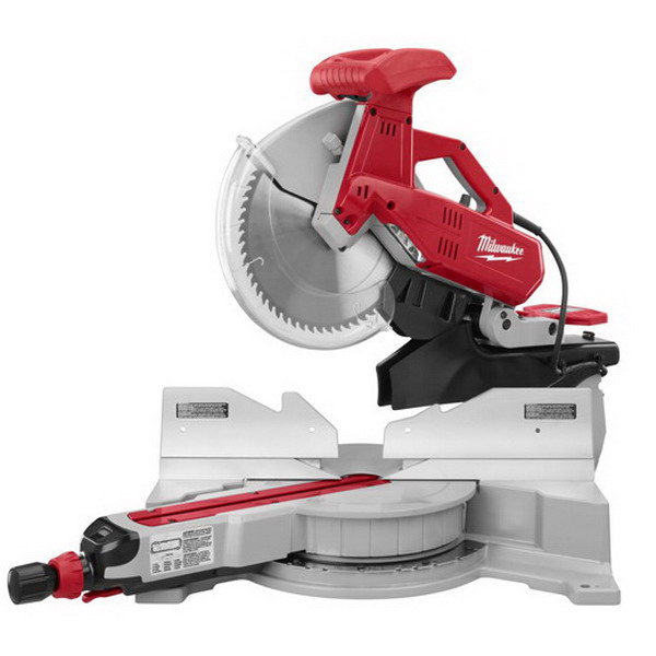 Milwaukee Tool  6955-20 Dual-Bevel Sliding Compound Miter Saw 120 Volt Ac- 15 Amp- 5/8 Or 1 Inch Arbor- 48 Degree Bevel Capacity- 12 Inch Blade- 3200 Rpm-