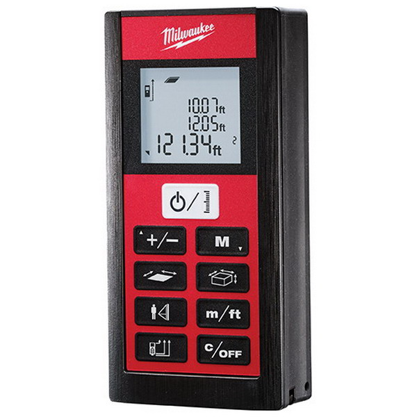 Milwaukee Tool  2281-20 Laser Distance Meter 2.000 - 200.000 Ft- 2 Aaa Battery- 1/16 Inch Accuracy-