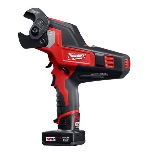 Milwaukee Tools 2472-21XC M12&trade Cordless 600 MCM Cable Cutter Kit 12 Volt  M12&trade Redlithium&trade Lithium-Ion Battery  10-1/2 Inch Length